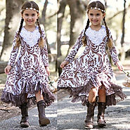 Beautifully Designed Baby Girl's Dresses at Mia Belle Baby