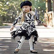 Buy Designer Boutique Clothing Sets for Girls at Mia Belle Baby