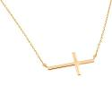 Sideways Cross Necklace for Women via @Flashissue