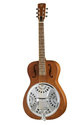 Dobro DWHOUNDRN Hound Dog Round Neck, Brown