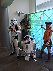 "Justin Riray on Twitter: ""Happy #MayThe4th @cisco @WeAreCisco friends! Thanks for having this #Ewok and #StormTrooper..."