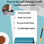 Ways to buy gifts through Credit card reward Points | Credit Healthcare