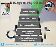 5 Creative Easy Ways to Get Out Of Debt | Credit Healthcare
