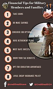 Financial Tips for Military Members and Families | Credit Healthcare