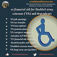 financial aid for disabled army veterans (VA) and dependents | Credit Healthcare