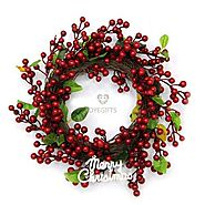 Buy Christmas Wreath Online Same Day & Midnight Delivery Across India @ Best Price - OyeGifts