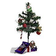 Buy Christmas Tree N Chocolates Online Same Day & Midnight Delivery Across India @ Best Price - OyeGifts