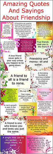 Amazing Quotes And Sayings About Friendship – Quotes And Sayings
