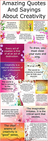 Amazing Quotes And Sayings About Creativity – Quotes And Sayings
