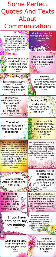 Some Perfect Quotes And Texts About Communication – Quotes And Sayings