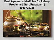 Best Ayurvedic medicine for kidney problems at GuruPrasadam...