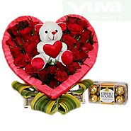 Buy/Send Heartily Combo Online - YuvaFlowers.com