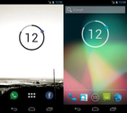 20 Minimalistic Clocks And Calendar Widgets For Android