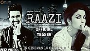 Raazi - 10th October, 2018