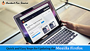 QUICK AND EASY STEPS FOR UPDATING THE MOZILLA FIREFOX