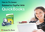 How to fix issues related to PayPal with QuickBooks