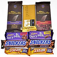 Send DELIGHTFUL CHOCOLATES COLLECTION Same Day Delivery - OyeGifts