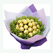Buy/Send Bouquet of Chocolates - YuvaFlowers