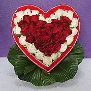 Buy/Send A Beautiful Heart for U Online - YuvaFlowers.com