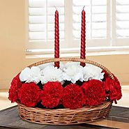 Buy/Send Basket of Love Online - YuvaFlowers.com