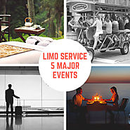 Limo Service – 5 Major Events