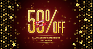 [Year End Sale] 50% Off All Magento 2 Extensions at Tigren