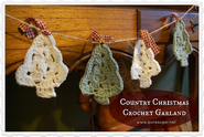 {Tutorial} Country Christmas Crochet Garland