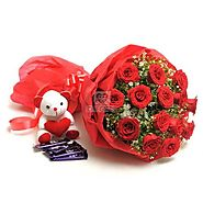 Send Sweet Romance Online Same Day Delivery - OyeGifts.com
