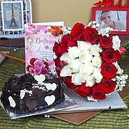 Send Birthday Cake Delighted Hamper Same Day Delivery - OyeGifts