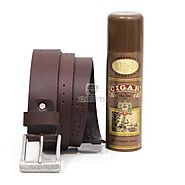 Send Cigar Deo N Leather Belt Online Same Day Delivery - OyeGifts.com