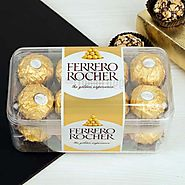 Buy/Send 16 Pcs Ferrero Rocher - YuvaFlowers