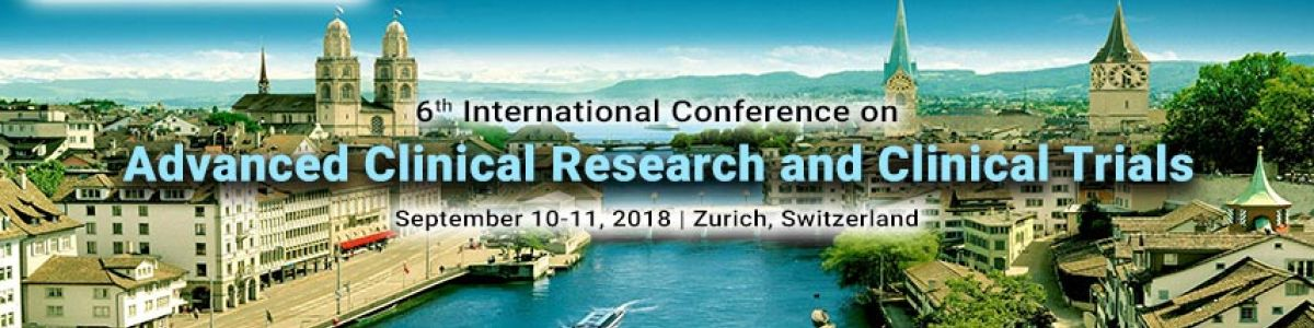 Headline for 6th International Conference on Advanced Clinical Research and Clinical Trials
