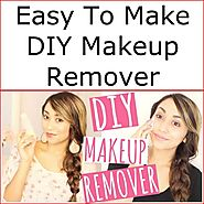 Easy To Make DIY Makeup Remover