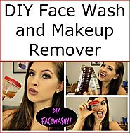 DIY Face Wash and Makeup Remover