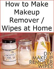 How to Make Makeup Remover / Wipes at Home