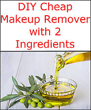 DIY Cheap Makeup Remover with 2 Ingredients
