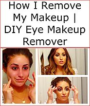 How I Remove My Makeup | DIY Eye Makeup Remover