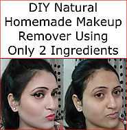DIY Natural Homemade Makeup Remover Using Only 2 Ingredients