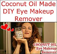 Coconut Oil Made DIY Eye Makeup Remover