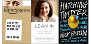 Lean In, Hatching Twitter and the Best Business Books of 2013