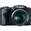 Canon PowerShot SX500 IS 16.0 MP Digital Camera with 30x Wide-Angle Optical Image Stabilized Zoom and 3.0-Inch LCD (B...