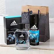 Buy Adidas Ice Dive Gift Set Goodie Bag Online Same Day Delivery - OyeGifts.com