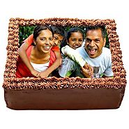 Send Delicious Chocolate Photo Cake Online Same Day Delivery @ Best Price
