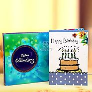Buy / Send Birthday card with celebration Gifts online Same Day & Midnight Delivery across India @ Best Price | OyeGifts