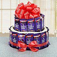Send Dairy Milk Chocolate Collection Same Day Delivery - OyeGifts