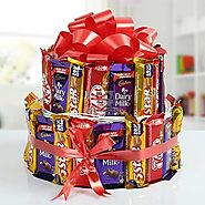 Send Two Storied Chocolate Treat Same Day Delivery - OyeGifts