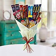 Buy / Send Mix Snacks Bouquet Gifts online Same Day & Midnight Delivery across India @ Best Price | OyeGifts