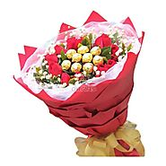 Send Best Of Love Same Day Delivery - OyeGifts