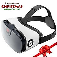 VR Headset - Virtual Reality Goggles by VR WEAR 3D VR Glasses for iPhone 6/7/8/Plus/X & Samsung S6/S7/S8/Note and oth...