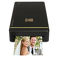 "Kodak Mini Portable Mobile Instant Photo Printer - Wi-Fi & NFC Compatible - Wirelessly Prints 2.1 x 3.4"" Images, Adva..."
